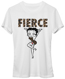 Juniors: Betty Boop- Fierce Shirts