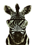 Hipster Zebra Africa Prints by  Wonderful Dream