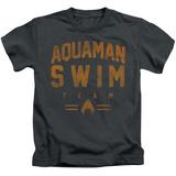 Juvenile: Aquaman- Swim Team T-Shirt
