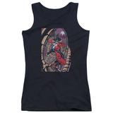 Juniors Tank Top: Harley Quinn- Coaster Spiral Shirts