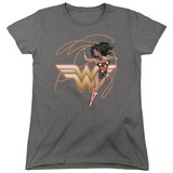 Womens: Wonder Woman- Shining Hero Shirts