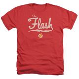 The Flash- Lightning Script Logo Shirt