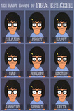 Bobs Burgers- The Many Moods Of Tina Prints