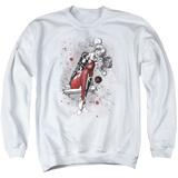 Crewneck Sweatshirt: Harley Quinn- Happy Manic Sketch T-shirts