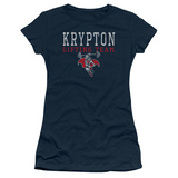 Juniors: Superman - Krypton Lifting Team T-shirts