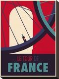Tour de France Impressão em tela esticada por Spencer Wilson