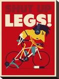 Shut Up Legs Impressão em tela esticada por Spencer Wilson