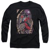 Long Sleeve: Harley Quinn- Coaster Spiral T-shirts