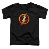 Toddler: The Flash- Incandescent Logo T-Shirt