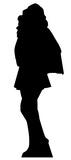 Superhero Girl Silhouette Cardboard Cutouts