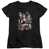 Womans: Harley Quinn- Roller Derby Team Shirts