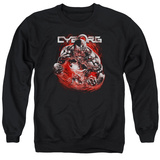 Crewneck Sweatshirt: Cyborg- Enraged T-Shirt