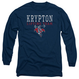 Long Sleeve: Superman - Krypton Lifting Team Long Sleeves