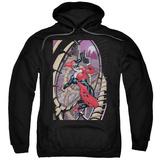 Hoodie: Harley Quinn- Coaster Spiral Pullover Hoodie