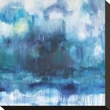 Stornoway Bedruckte aufgespannte Leinwand von  Bluebellgray