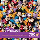 Disney Classic Plush 750 Piece Jigsaw Puzzle Jigsaw Puzzle