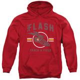 Hoodie: The Flash- Track & Field Logo Pullover Hoodie