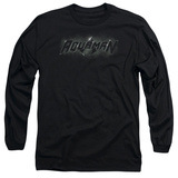 Long Sleeve: Aquaman- Shadow Logo T-shirts