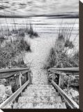 Follow the Steps Impressão em tela esticada por Mary Lou Johnson