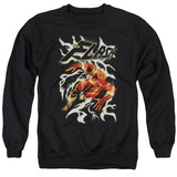Crewneck Sweatshirt: The Flash- Speed Fire T-shirts