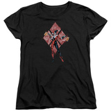 Womans: Harley Quinn- Diamond Action Shirts