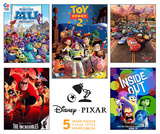 Disney Pixar Movie Posters 5 in 1 Jigsaw Puzzles Jigsaw Puzzle