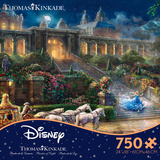 Thomas Kinkade Disney Dreams - Live Action Cinderella 750 Piece Jigsaw Puzzle Jigsaw Puzzle