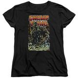 Womens: Swamp Thing- Green Hero T-shirts