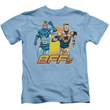 Juvenile: Blue Beetle & Booter Gold- Bff'S Shirt