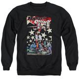 Crewneck Sweatshirt: Harley Quinn- Roller Derby Girl Shirts