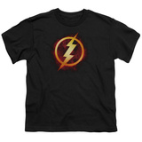 Youth: The Flash- Incandescent Logo T-Shirt