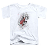 Toddler: Harley Quinn- Happy Manic Sketch Shirt