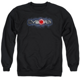 Crewneck Sweatshirt: Cyborg- Chrome Logo T-shirts