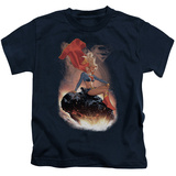 Juvenile: Supergirl- Cosmic Contemplation T-shirts