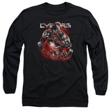 Long Sleeve: Cyborg- Enraged T-shirts