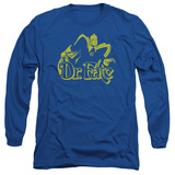 Long Sleeve: Dr Fate- Simple Profile T-Shirt
