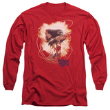 Long Sleeve: Wonder Woman- 75Th Anniversary Radiance T-Shirt