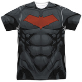Batman- Red Hood Logo Costume Tee Sublimated