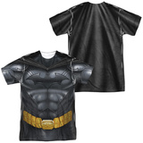 Batman- Body Armour Costume Tee (Front/Back) Sublimated