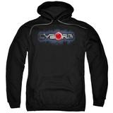 Hoodie: Cyborg- Chrome Logo Pullover Hoodie