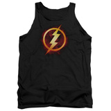 Tank Top: The Flash- Incandescent Logo Tank Top