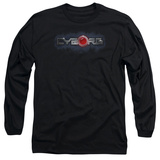 Long Sleeve: Cyborg- Chrome Logo T-shirts