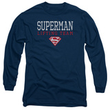 Long Sleeve: Superman- Lifting Team T-shirts