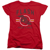 Womans: The Flash- Track & Field Logo T-shirts