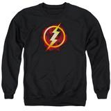 Crewneck Sweatshirt: The Flash- Incandescent Logo Shirt