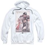 Hoodie: Superman- A Boy And His Dog Pullover Hoodie