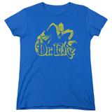 Womans: Dr Fate- Simple Profile T-Shirt