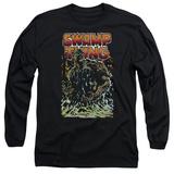 Long Sleeve: Swamp Thing- Green Hero Long Sleeves