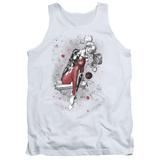 Tank Top: Harley Quinn- Happy Manic Sketch Tank Top