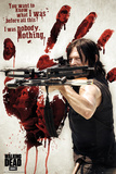 The Walking Dead- Daryl Before The Blood Plakater